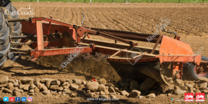 Effectively Remove small stones from fields using some equipment