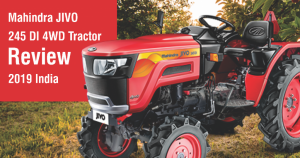 Mahindra JIVO 245 DI 4WD Tractor Review 2019 India