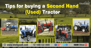 Tips for buying a Second Hand (Used) Tractor