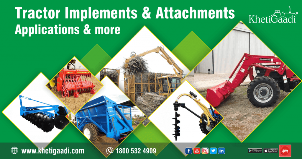 Tractor Implements and Attachments – Applications and more