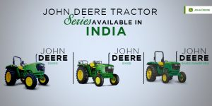 John Deere Tractor Series Available in India