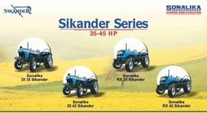 All In Detail About Sonalika Sikander Series Tractors Available In 35 – 45 HP Category