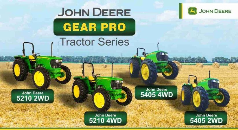 All in Detail About John Deere Gear Pro Tractor Series