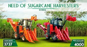 Need of Sugarcane Harvester in India