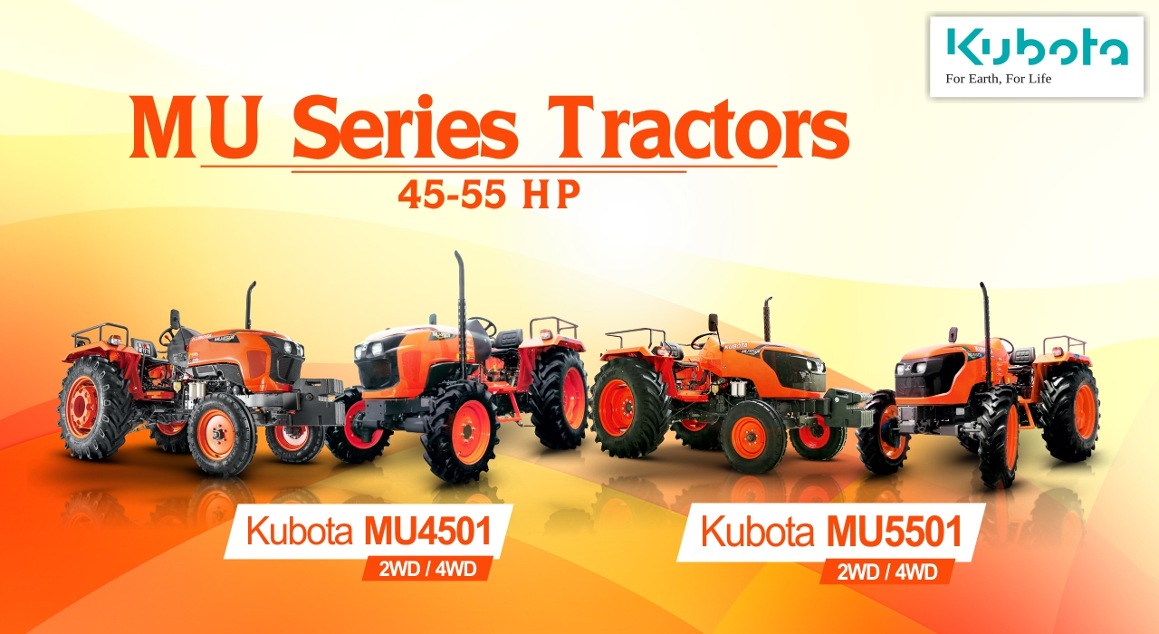 All in Detail About Kubota MU Series Tractors