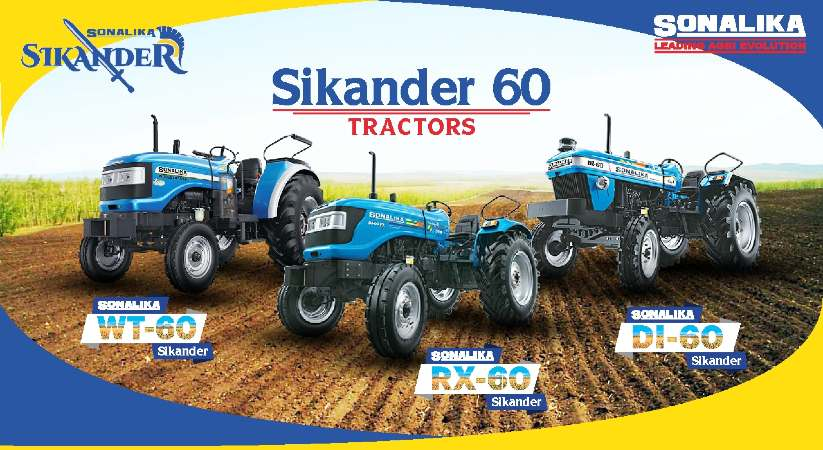 All in Detail About Different Variants of Sonalika 60 Sikander Tractor