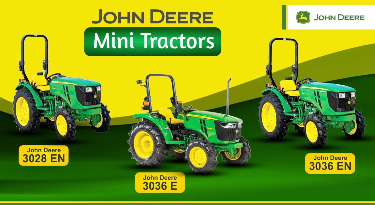 Best Mini John Deere Tractor