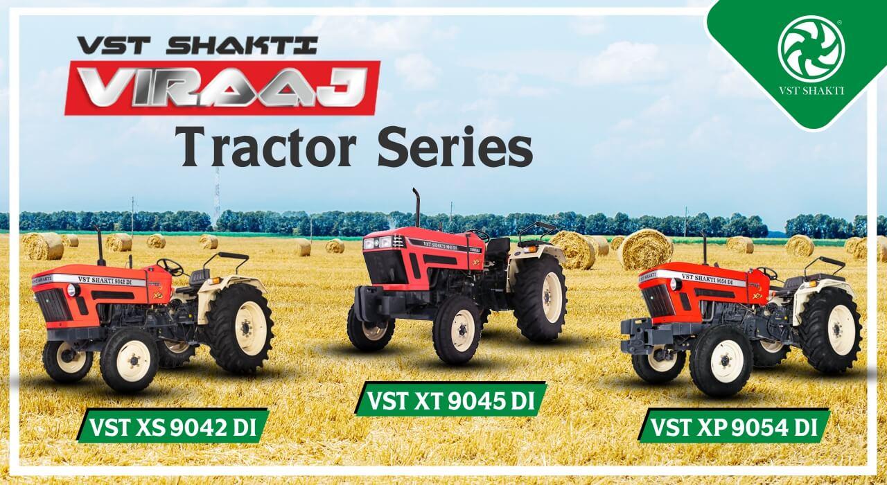 VST Shakti Viraaj Tractor Series