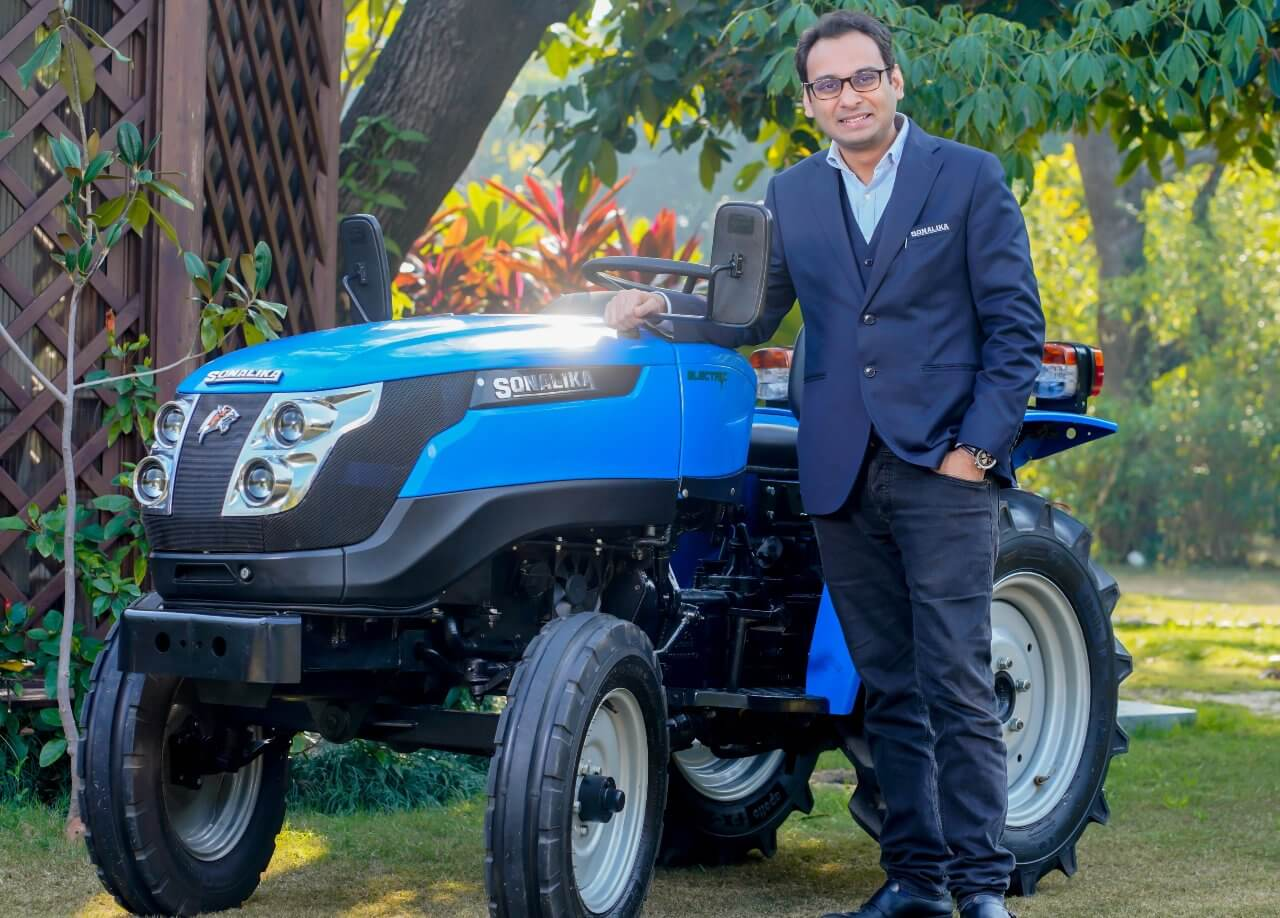 Electric Tractor in India