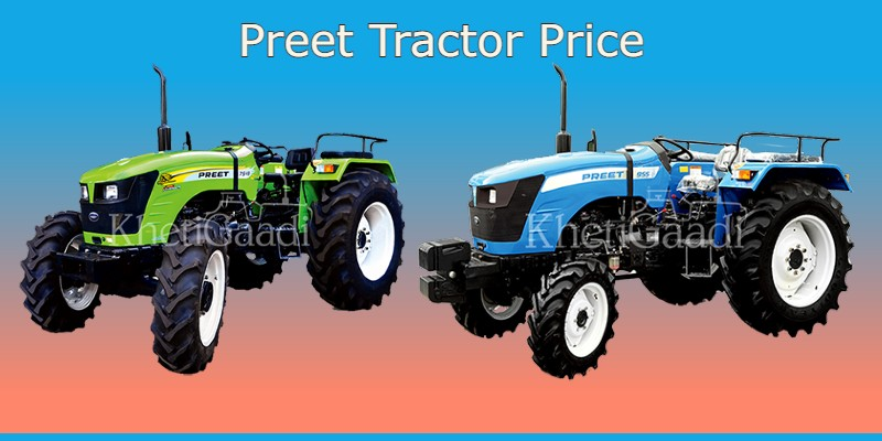Preet Tractor Price In India