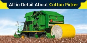 All in Detail About Cotton Picker