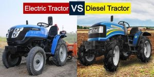Let's Compare Electric Tractor with Diesel Tractor