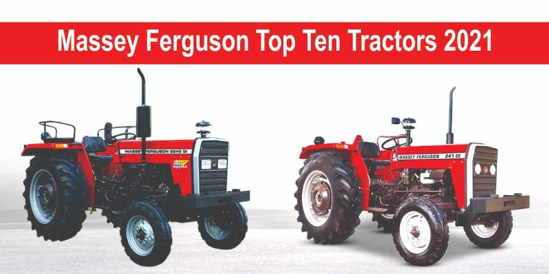 Massey Ferguson Top Ten Tractors 2021