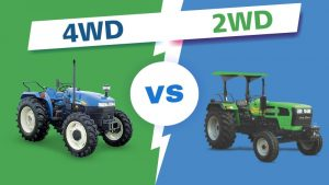Which Tractor Perfect for Indian Farmers :2WD Tractor or 4WD Tractor