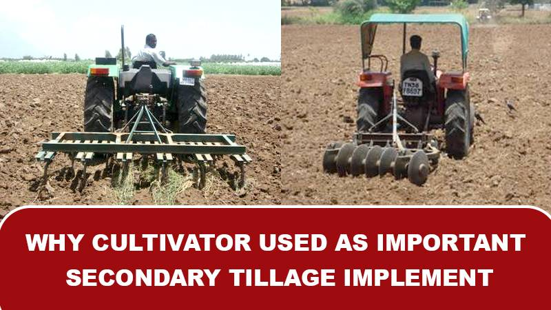 Why Cultivator Used as Important Secondary Tillage Implement