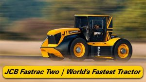 JCB Fastrac Two, World's Fastest Tractor