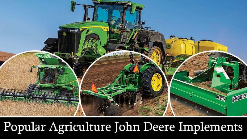 Popular Agriculture John Deere Implements