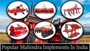 Popular Mahindra Implements In India