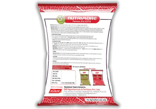 Nutrimore Fe EDTA 250gm