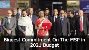 What Commitment On The MSP and APMCs On The Budget