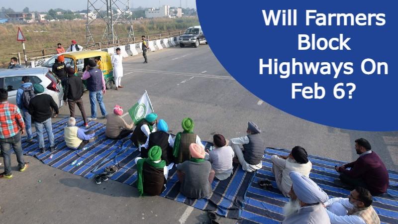 Farmer leaders will block Highways On Feb 6