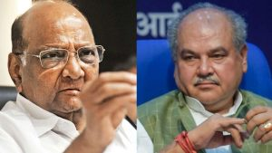 Sharad Pawar's criticism responded by the Agriculture Minister