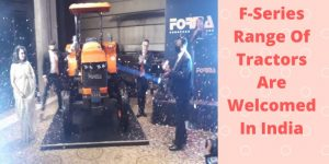 New F-Series Tractor Launched In India By Forma