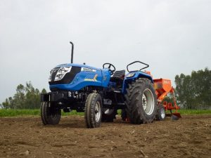 Hike On Domestic Tractor Sales Records Of Sonalika