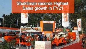 Shaktiman records the Highest Sales growth in FY21 by selling 1.30+ Lakh Machines and became the largest exporter of Farming implements from India