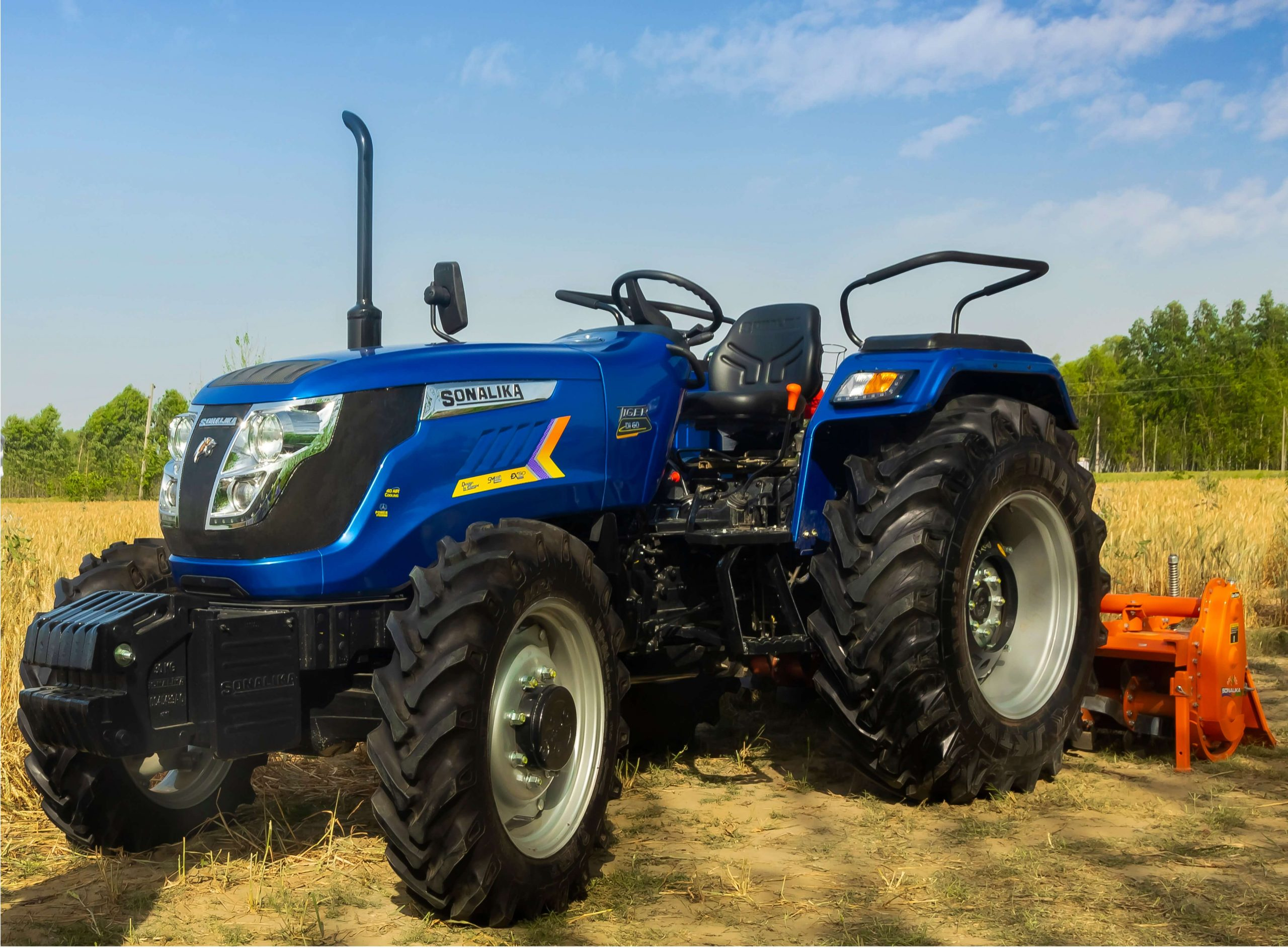 Sonalika Records Highest Domestic growth in Industry at 41.6%; Surpasses industry growth (est. 26.7%) to Record Highest Ever overall Annual Sales Volume of 1,39,526 tractors in FY'21