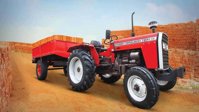 TAFE Launches Massey Ferguson 7235 – Commercial & Haulage Special Tractor for Uttar Pradesh