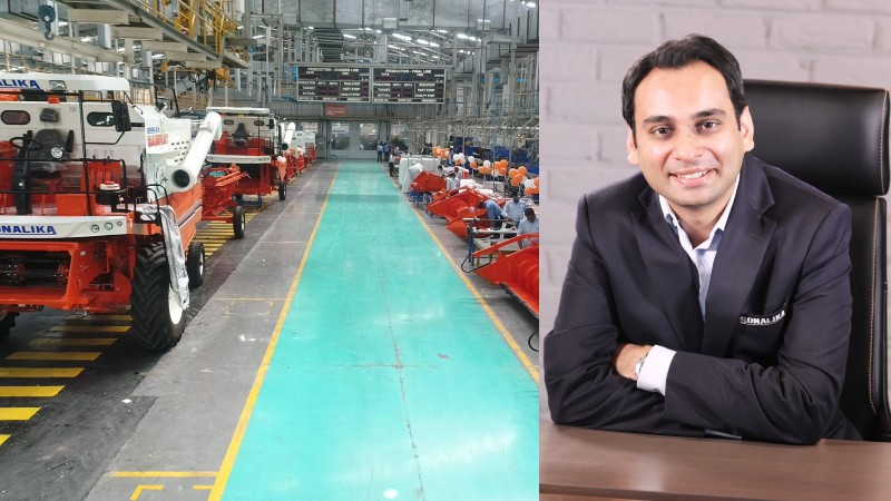 Sonalika invests Rs 200 Cr. to establish one of India's largest harvester manufacturing facility