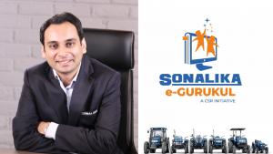 Sonalika records 10,756 overall tractor sales in July'21; Launches an edu-tech platform 'Sonalika e-Gurukul' for rural children