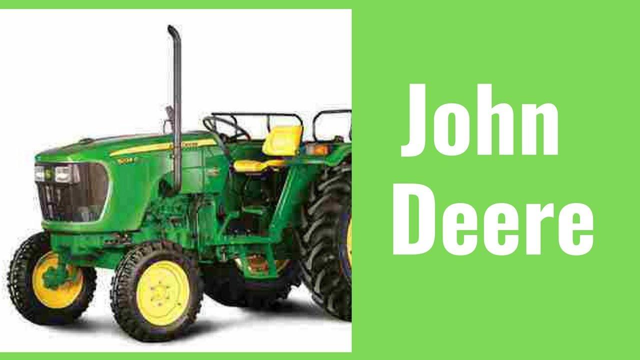 John Deere Tractor ad